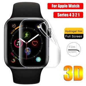 Hydrogel 3D  Screen Protector Film For Apple Watch 38 40 42 44mm iWatch [2 Pack]