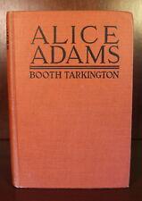Alice Adams Booth Tarkington 1921 First Edition 1st Printing Pulitzer Prize