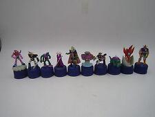 Mazinger Z Getter Robo Grendizer Great Mazinger Bottle Cap Mini Figure Set of 10