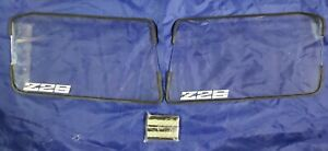 Fits 82-84 Chevrolet Camaro Z-28 Z28 GTS Clear Acrylic Headlight Covers GT104