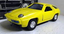 SAKURA Supercar scala 1/43 no.10 PORSCHE 928 AUTO GIALLA Modello Diecast