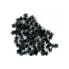 100 Rhinestones BLACK new lots Arts Crafts STARS