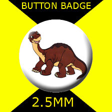 THE LAND BEFORE TIME LITTLEFOOT  - CULT TV  2 -  Button Badge 25mm
