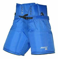 """NEW Firstar Traditional Ice Hockey Pants (Size 46) Royal Adult Small 30"""""""