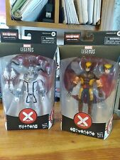 marvel legends lot, Magneto and Wolverine X-Men lot of two, unopened!!