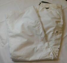 Women's Oakley Ski Pants Pant snow snowboarding L large Regular Fit White EUC