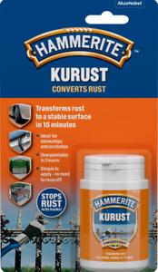Hammerite Kurust Blister Metal Rust Converter No Undercoat Required 90ml