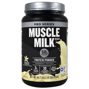 Cytosport Muscle Milk Pro Series Protein Powder 50g Protein 2.54 Pounds Vanilla
