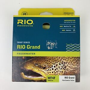 NEW RIO GRAND WF-4-F #4 WEIGHT FORWARD FLOATING FLY LINE WITH MAXCAST / MAXFLOAT