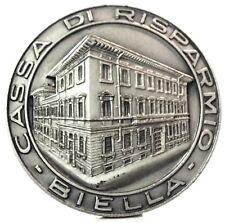 BIELLA (Milano) Cassa di risparmio-Medaglia
