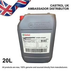 20L Castrol MAGNATEC Stop-Start 5w-30 5W30 A5 Fully Synthetic - Engine Oil
