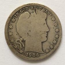 1906-O Barber Silver Half Dollar U.S. Coin A4745