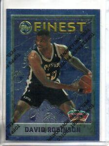 1995-96 FINEST DAVID ROBINSON (NM/MT OR BETTER)