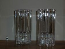 PartyLite Delphi Candle Holder Pair ~ Excellent Pre-Owned Condition ~ No Box