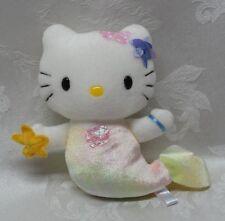 "Hello Kitty Mermaid Plush 8"" Sanrio Velveteen 2001 HTF Rare Vintage Stuffed EUC"
