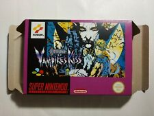 Castlevania Vampire's Kiss-PAL-Super Nintendo-SNES-only box