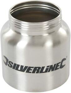 HVLP Sprayer 500W 798866, Spray Paint Metal Bottle, SILVERLiNE, 800ml, 269682