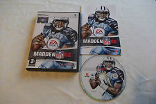 MADDEN NFL 08 APPLE MAC/DVD V.G.C. FAST POST COMPLETE