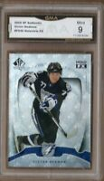GMA 9 Mint VICTOR HEDMAN 2009/10 SP Authentic HOLO FX ROOKIE CARD Tampa Bay #40