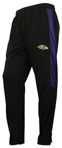 Zubaz NFL Football Men's Baltimore Ravens Athletic Track Pant
