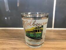 Melbourne Australia Shot Glass Souvenier