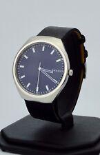 Skagen Men's Watch, Grenen Black Leather Watch SKW6385, New