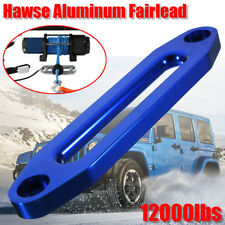 10'' 12000lbs Hawse Aluminum Fairlead For Winch Cable Rope Guide ATV Offroad 4WD