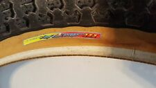 NOS OLD SCHOOL BMX MITSUBOSHI COMP III RAINBOW LABEL CRUISER TIRE 24X2.125