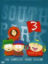 South Park: The Complete Third Season [3 Discs] DVD Region 1