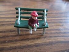 Mr Christmas Victorian Skaters 1890 replacement piece park boy on bench