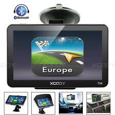 8GB Portable Sat Nav 7'' LGV HGV Car Coach GPS Navigation Bluetooth AV-IN XGODY