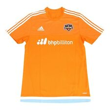 Houston Dynamo MLS Adidas Men's Bright Orange Climacool Pregame Training Jersey