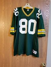 Vintage Derrick Mayes Green Bay Packers Champion Jersey Size 52 EUC