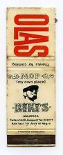 Vintage Spanish Matchbox Label, Olas / Riki's Rare Collectible