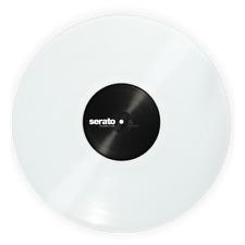 "CLEAR 12"" Serato Control Vinyl (Pair)"