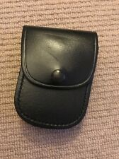"Ex Police Black Leather Pouch For 2"" Kit Belt. 135."