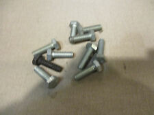 (10) Hex Head Bolts M 6 x 18