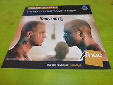 ROBBIE WILLIAMS - ENTERTAINMENT !PLV 30X30 CM !!FRENCH RECORD STORE PROMO ADVERT
