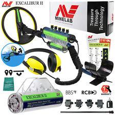 "Minelab Excalibur II Underwater Detector 10"" Search Coil, Alkaline Battery Pack"