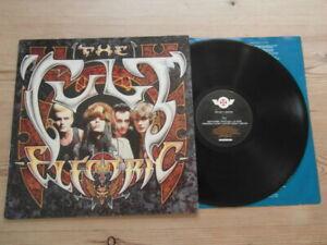 THE CULT-ELECTRIC- SUPERB AUDIO-BEGA 80- EX VINYL LP ALBUM 1987