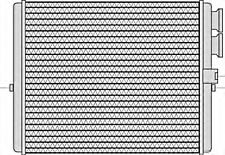 Wärmetauscher Heizungskühler für MERCEDES OPEL RENAULT VW Touran 1.0-5.5L 1970-