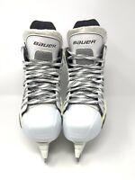 Bauer Supreme ONE.6 Limited Edition White Ice Hockey Skates size 6.5D Stainless