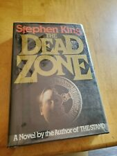 The Dead Zone, 1979, first edition, first printing, Stephen King, HCDJ