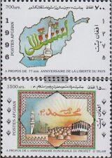 Afghanistan 1710-1711 (kompl.Ausg.) postfrisch 1996 Jahrestage und Ereignisse