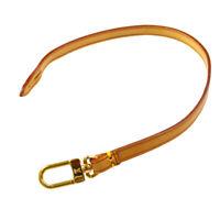 LOUIS VUITTON Handle Strap For Pochette Accessories Brown Leather T04710
