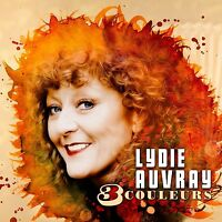 LYDIE AUVRAY - 3 COULEURS  CD NEU