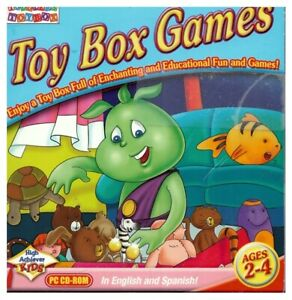 TOY BOX GAMES PC CD-ROM by Compedia