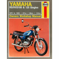 Yamaha RS100 RS125 RS125DX RXS100 Singles 1974-1995 Haynes Workshop Manual