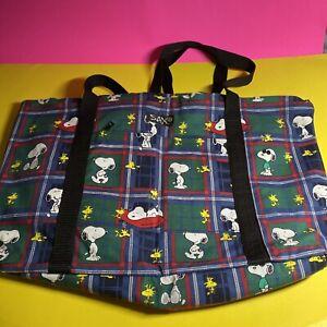 Vintage Peanuts: Sax Snoopy & Woodstock Bag / BG