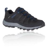 Merrell Mens Ontonagon Peak Waterproof Walking Shoes Black Sports Outdoors